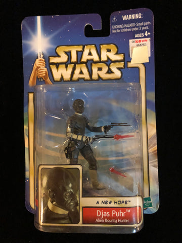 Star Wars: Djas Puhr - A new hope: Alien Bounty Hunter Hasbro - Deal Changer