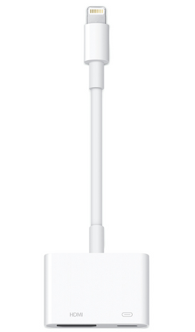 APPLE LIGHTNING TO HDMI DIGITAL AV HDTV MONITOR ADAPTER - Deal Changer