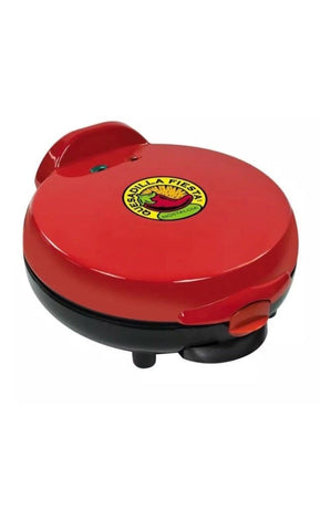 SENSIO QUESADILLA MAKER *New Open Box* MODEL S676 EL PASO CHILI COMPANY RED - Deal Changer