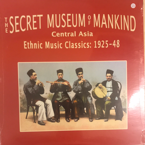 V/A - The Secret Museum Of Mankind: Central Asia. Ethnic Music Classics 1925-48 2LP