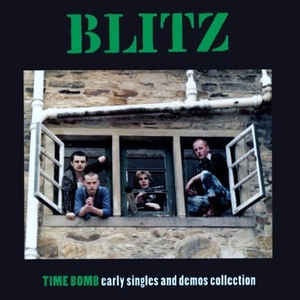 Blitz - Time Bomb: Early Singles And Demos Collection LP