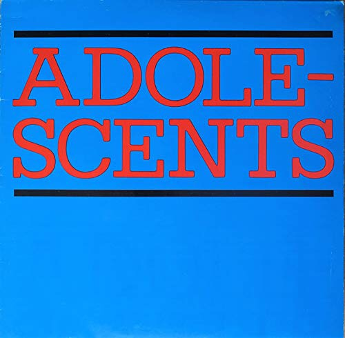 Adolescents - s/t (color) LP