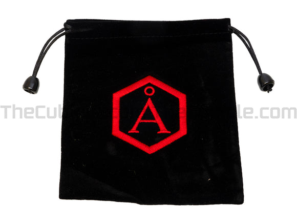 Angstrom Embroidered Bag (Size 7) - Black