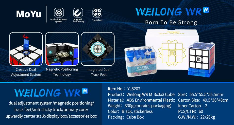 MoYu Weilong WR M – TheCubicle