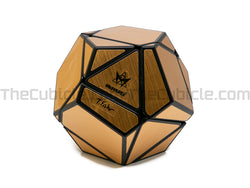 Tony Fisher Golden Dodecahedron - Black