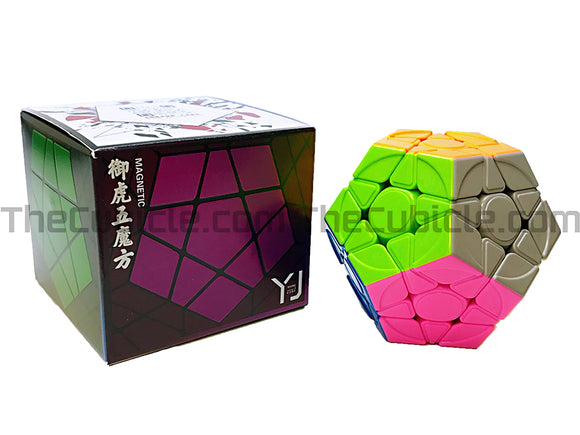 YJ YuHu Megaminx V2 M - Stickerless (Bright)
