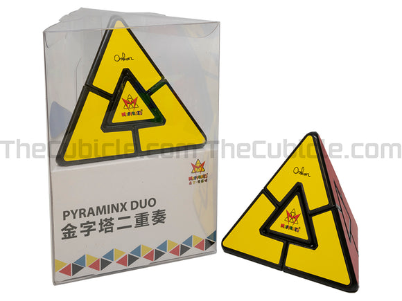 MoYu Pyraminx Duo - Black