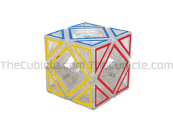 Meffert's Hollow Sticker Skewb - Transparent