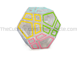 Meffert's Hollow Sticker Skewb Ultimate - Transparent