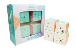 MFJS MeiLong Cubic Gift Box - Macaron - Stickerless (Bright)