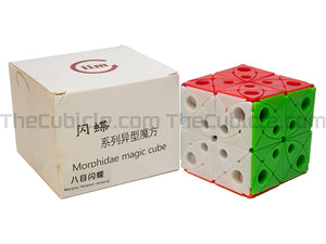 FangShi LimCube Morpho Helenor Octavia - Stickerless (Bright)