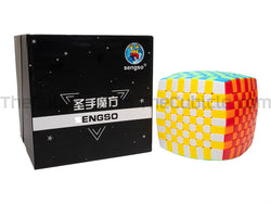 ShengShou Pillowed 9x9 - Stickerless (Bright)