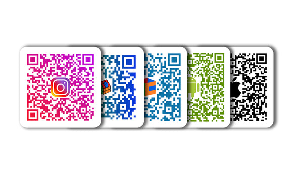 TheCubicle QR Code Logo Pack 1 - 3x3