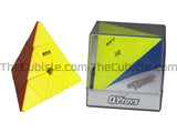 QiYi MS Pyraminx - Stickerless (Bright)