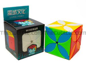 MFJS MeiLong Clover 3x3 - Stickerless (Bright)