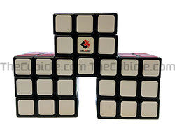 CubeTwist Conjoined Triple 3x3 - Black