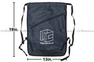 Cubicle Drawstring Backpack