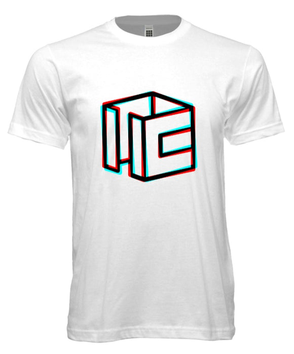 Cubicle Wireframe RGB-Split T-Shirt