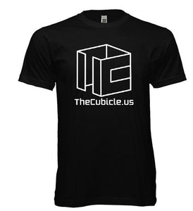 Cubicle Wireframe T-Shirt (Black)