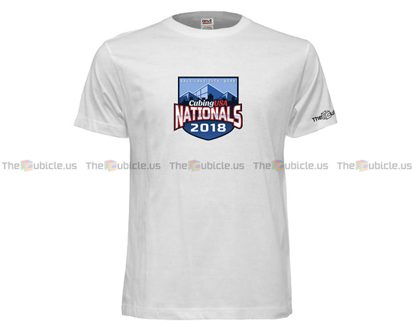 CubingUSA Nationals 2018 T-Shirt