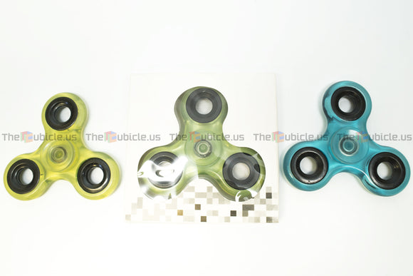 Fidget Tri-Spinner I (Transparent)