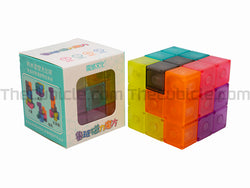 MoYu Luban Lock Magnetic Puzzle 3x3 - Transparent