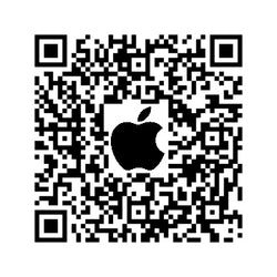 TheCubicle Mobile Logo (QR Apple) - 3x3