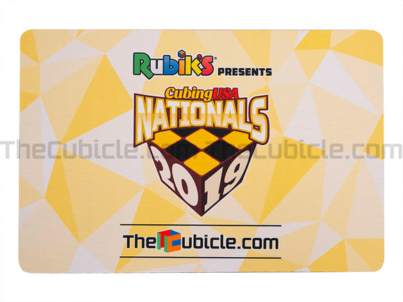 CubingUSA Nationals 2019 Mat