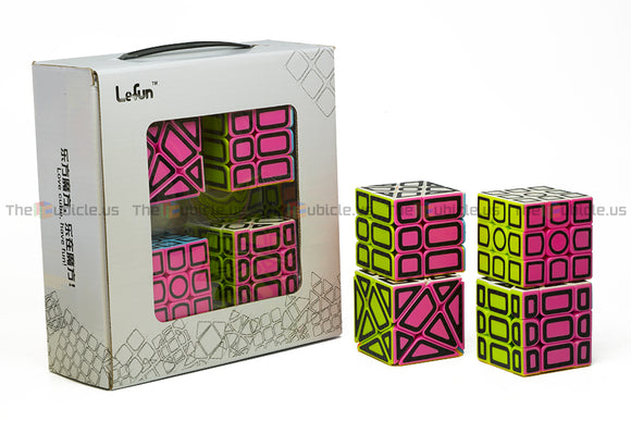 Lefun Hollow Sticker Cube Gift Box