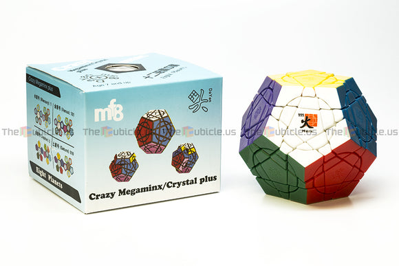 DaYan + mf8 Crazy Megaminx Plus - Mars