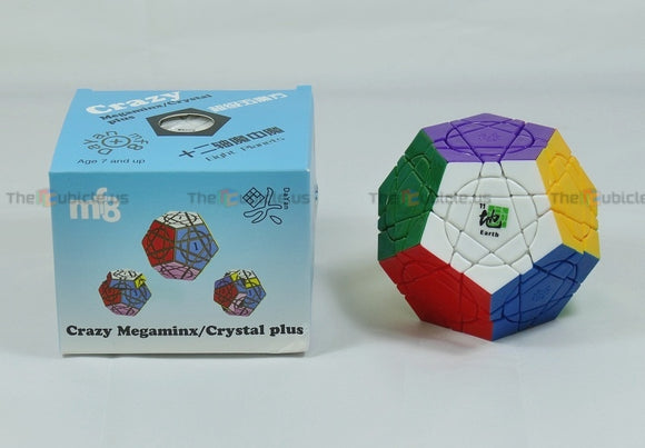 DaYan + mf8 Crazy Megaminx Plus - Earth