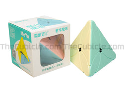MoYu Maple Leaf Pyraminx - Stickerless (Bright)