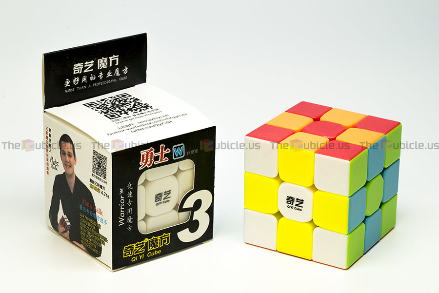 classic quality preview of QiYi Warrior W 3x3