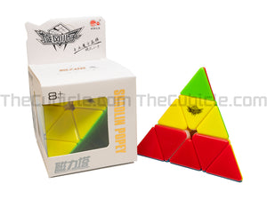 Cyclone Boys Pyraminx M - Stickerless (Bright)