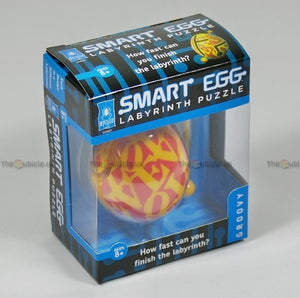 Smart Egg 1-Layer Labyrinth Puzzle (Groovy)