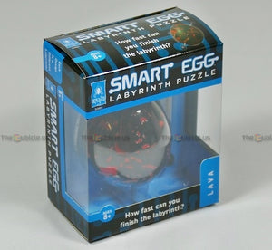 Smart Egg 1-Layer Labyrinth Puzzle (Lava)
