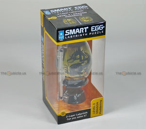 Smart Egg 2-Layer Labyrinth Puzzle (Black)