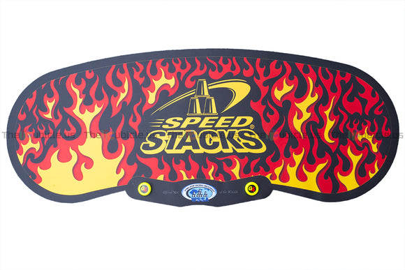 SpeedStacks Gen3 Mat (Black Flame)