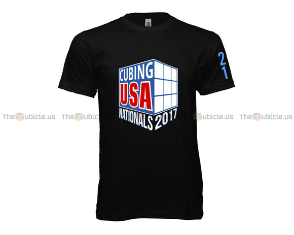 CubingUSA Nationals 2017 Logo T-Shirt