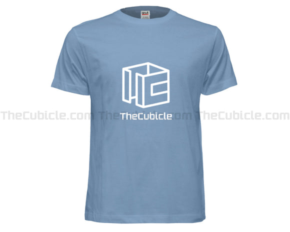 Cubicle Wireframe T-Shirt (Blue) (2019)