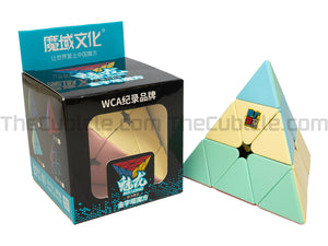 MFJS MeiLong Pyraminx - Macaron - Stickerless (Bright)