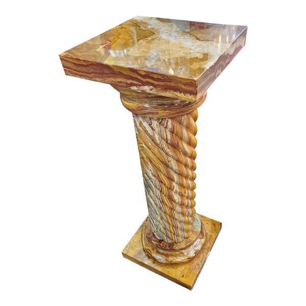Brown Marble Column