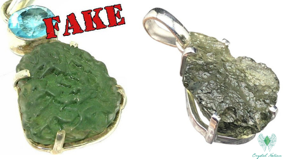 FAKE vs REAL Moldavite