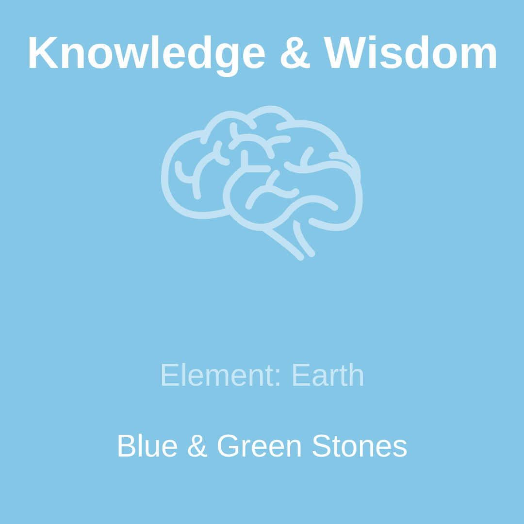 Crystals for Knowledge & Wisdom