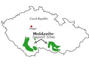Moldavite Deposits (Czech Repuplic)