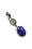 Tanzanite Herkimer Sterling Silver Pendant ~ Stone of Transformation (672652)
