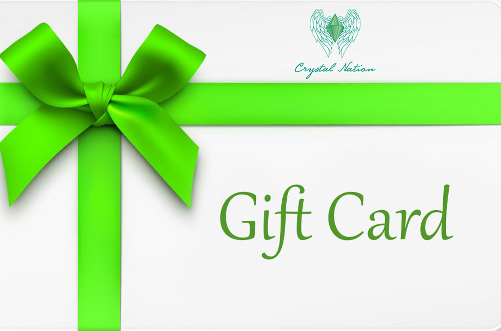 Crystal Nation Gift Cards