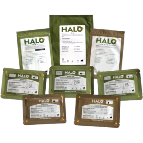 Halo Seal, Halo Vent and Halo XL