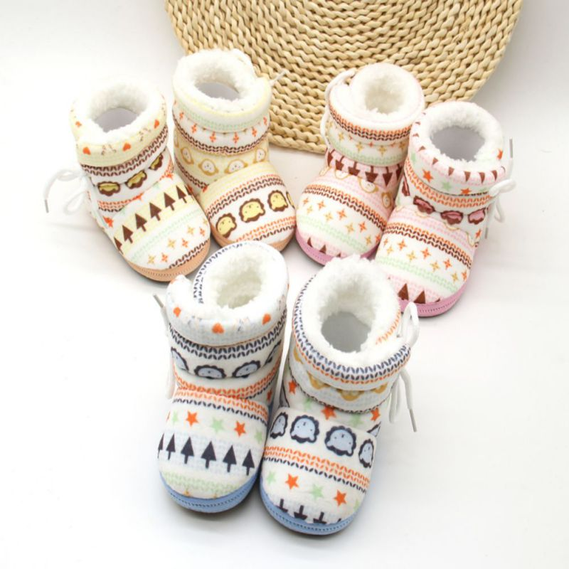 Newborn Cotton Padded Boots