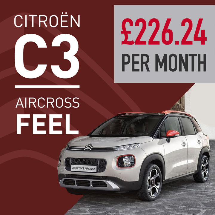 C3 Aircross Feel Manual Natural White Offer